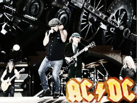 ac dc, music