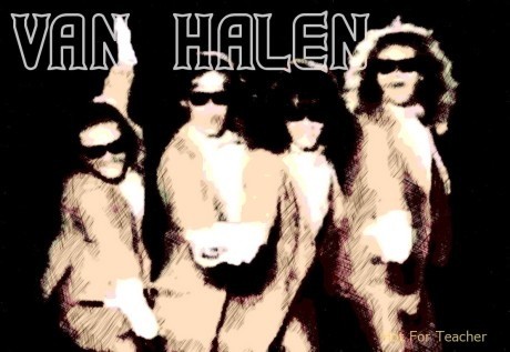 van halen, hot for teacher