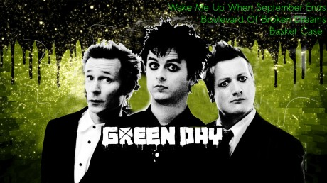 mp3, green day