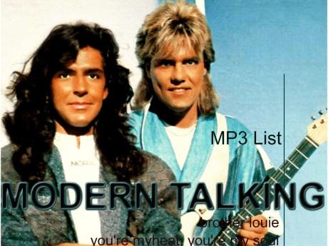 modern talking, mp3