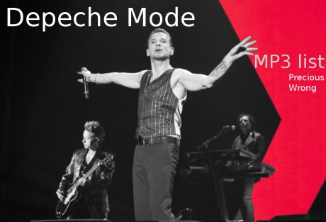 depeche mode, mp3 list