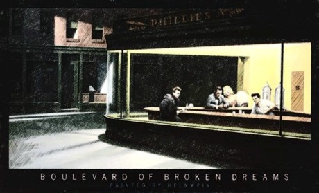 green day, boulevard of broken dreams