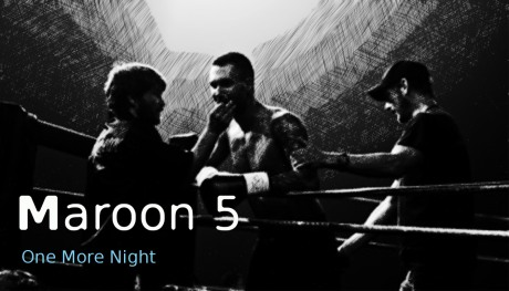 maroon 5, one more night