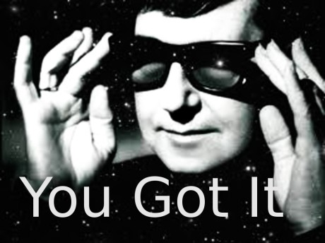 roy orbison, you got it
