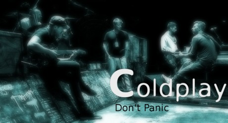 coldplay, dont panic