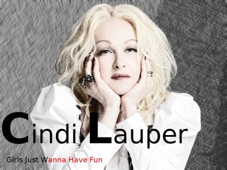 cyndi lauper, girls just wanna have fun