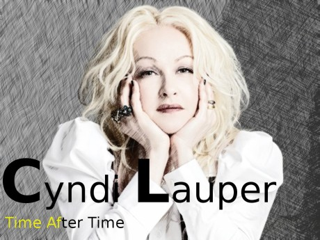 cyndi lauper, time after time