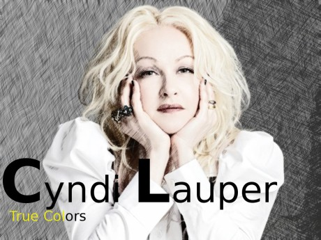 cyndi lauper, true colors