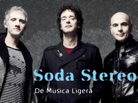 soda stereo, de musica ligera