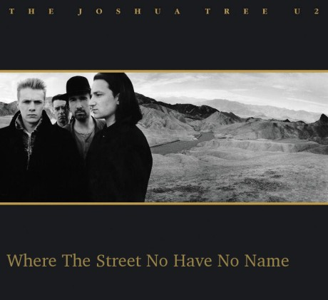 u2, where the street no have no name
