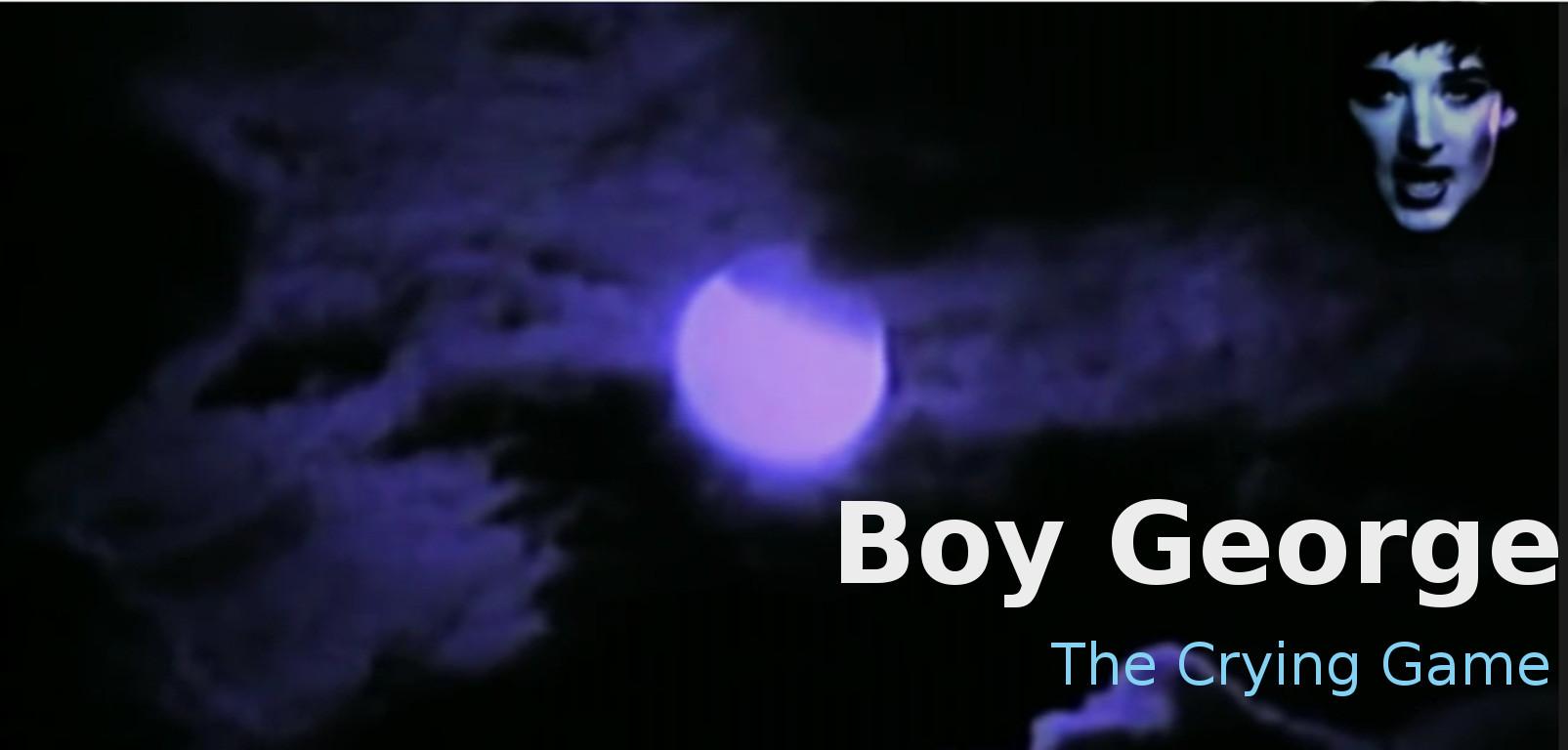 boy george crying game lyrics