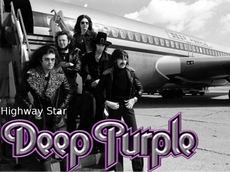 deep purple, highway star
