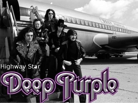 deep purple, highway star