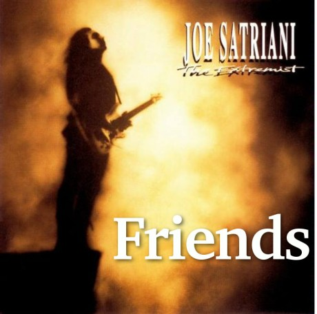 joe satriani, friends