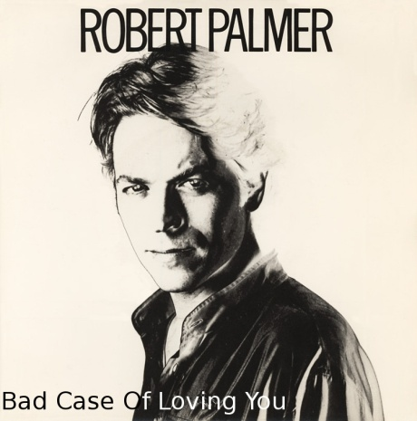 robert palmer, bad case of loving you