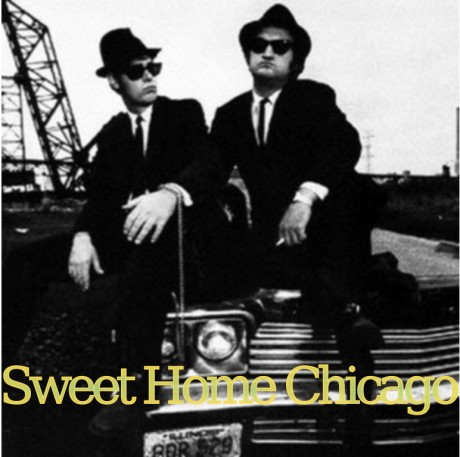 the blues brothers, sweet home chicago
