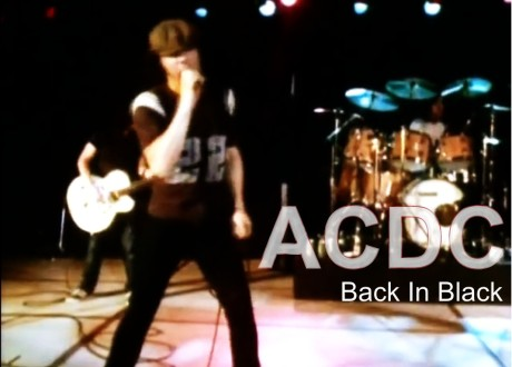ac dc, back in black