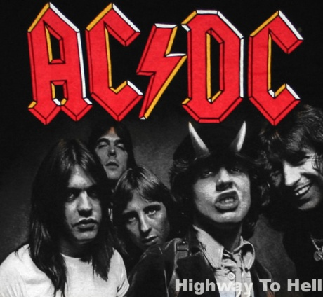 acdc, highway to hell