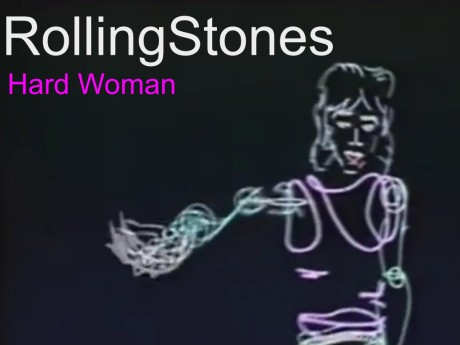 rolliing stones, hard woman