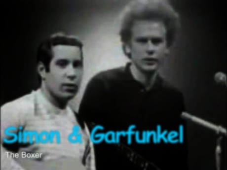 simon and garfunkel, the boxer