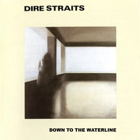 dire straits, down to the waterline