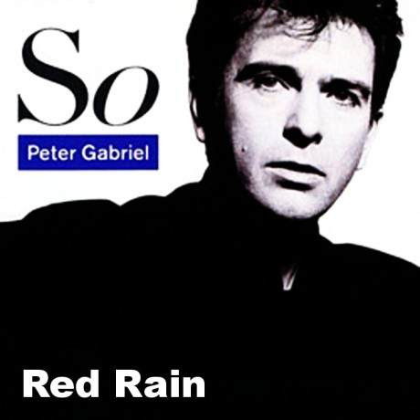 peter gabriel, so, red rain
