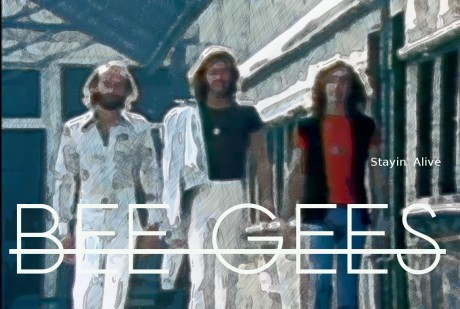 bee gees, stayin alive