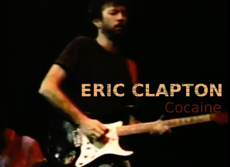 eric clapton, cocaine