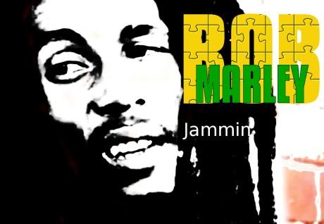 bob marley, jamming