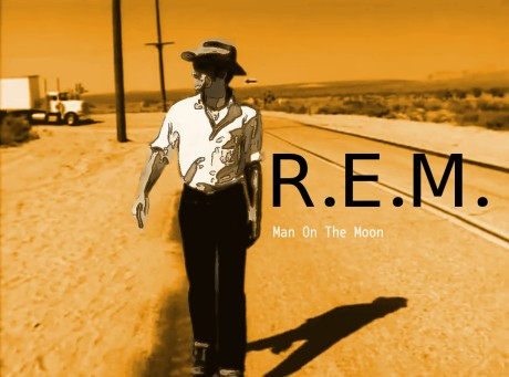 rem, man on the moon