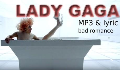 bad romance, mp3