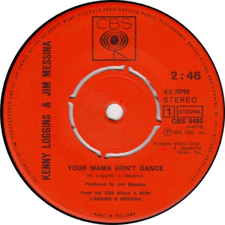 your mama don't dance, loggins and messina