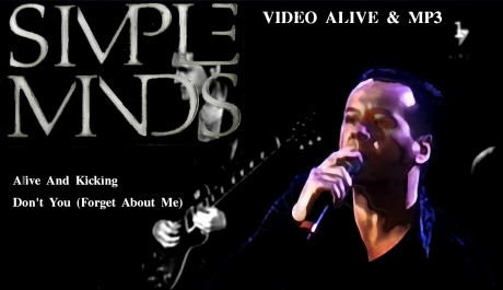video alive mp3, simple minds